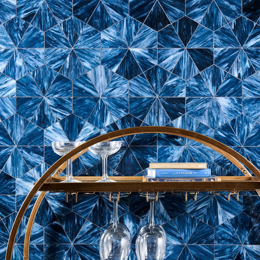Beacon art glass mosaic
